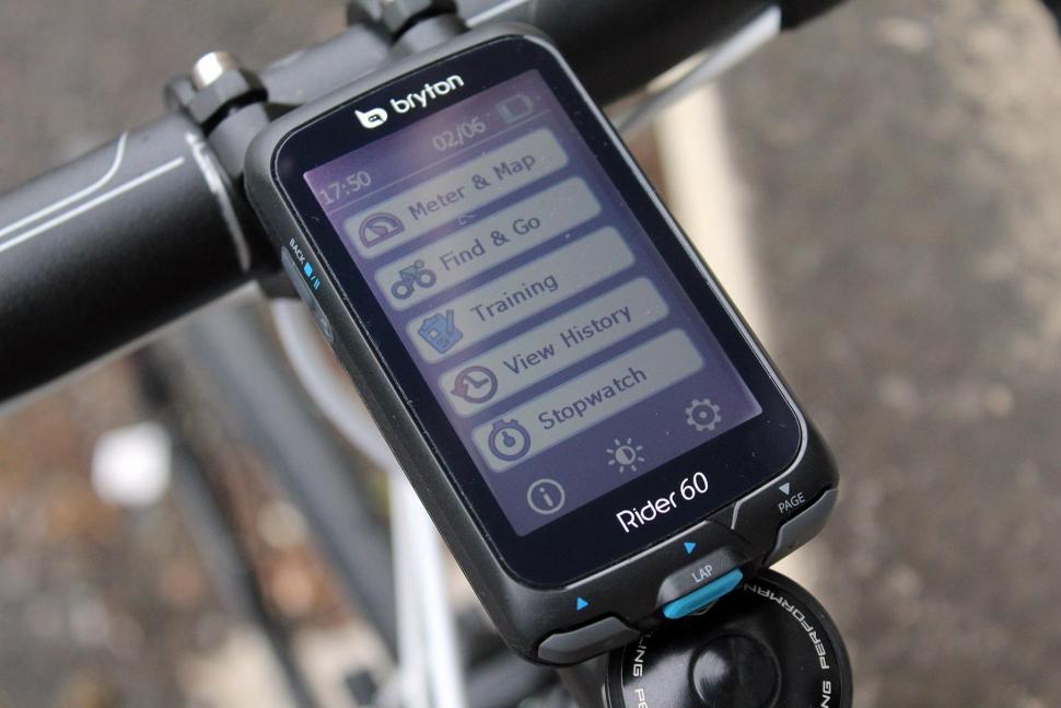 Bryton Rider 60E GPS Cycle Computer