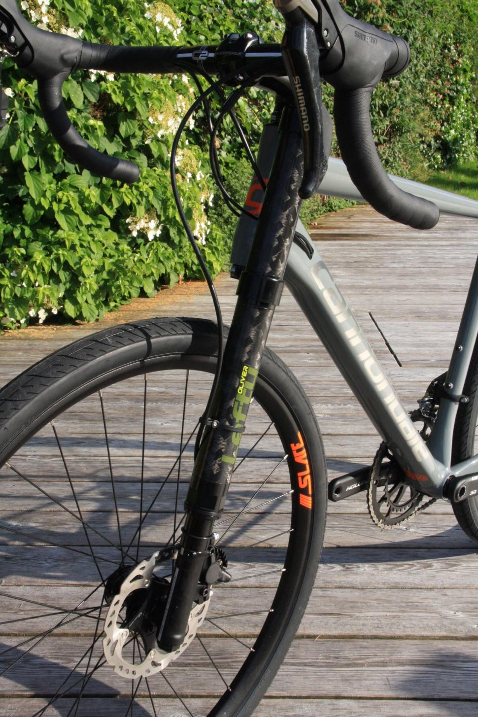 Cannondale Slate - Lefty fork