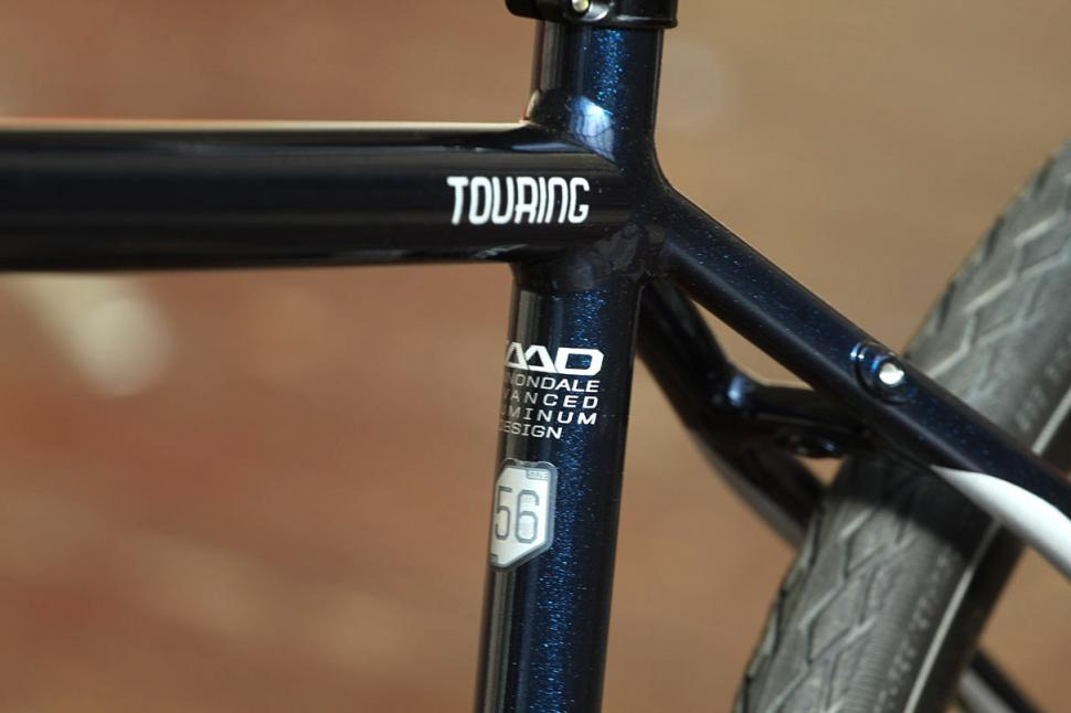Cannondale Touring - frame detail