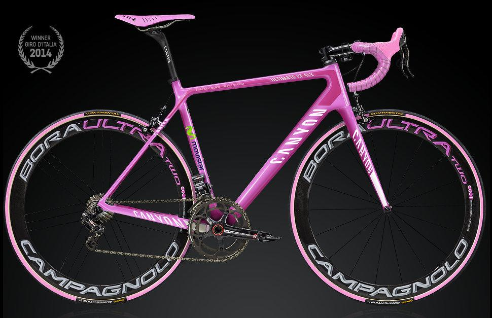Canyon Release Limited Edition Pink Giro D Italia Replica