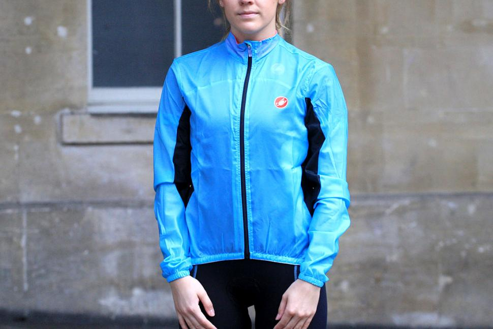 Review Castelli Velo W Jacket Road Cc