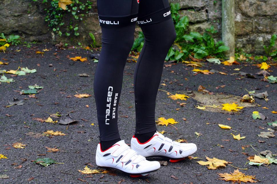 Mens Cycling Leg Warmers Winter Running Thermal Roubix Cycle Knee Warmer