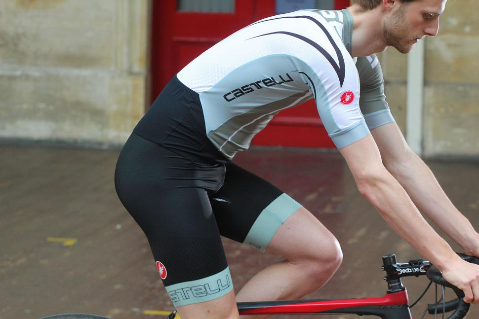Castelli Speed suit 3 - on bike