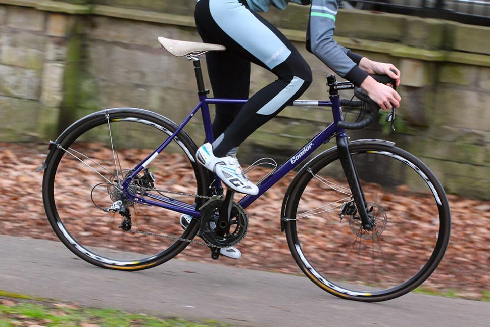 Condor Fratello - riding 1