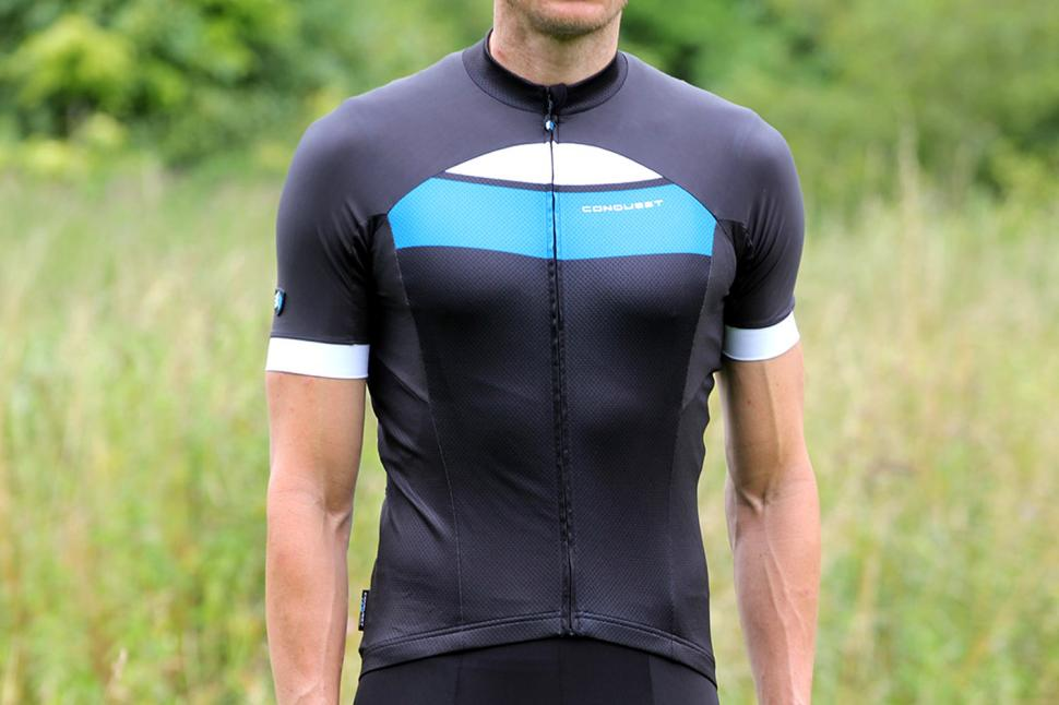 cc7d7e8f1 Review  Conquest Cyclewear Performance 2 Men s Short Sleeve Cycling Jersey