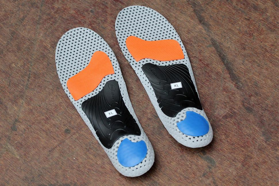CurrexSole Bikepro Performance Insoles - underside