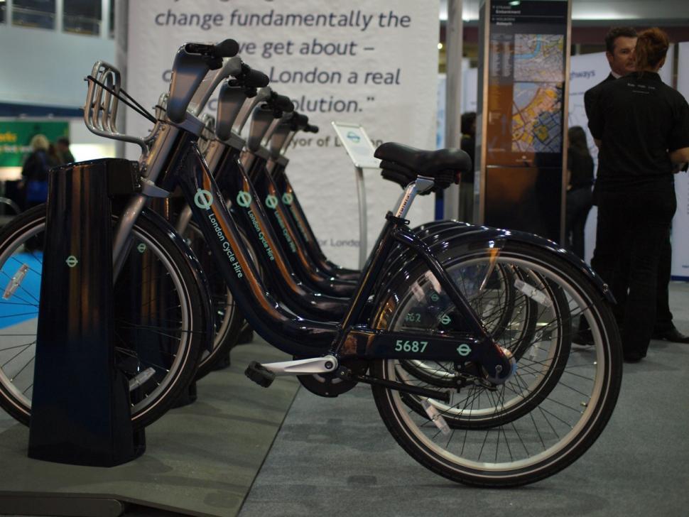 London Cycle Hire bikes
