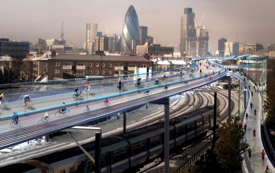 London Skycycle