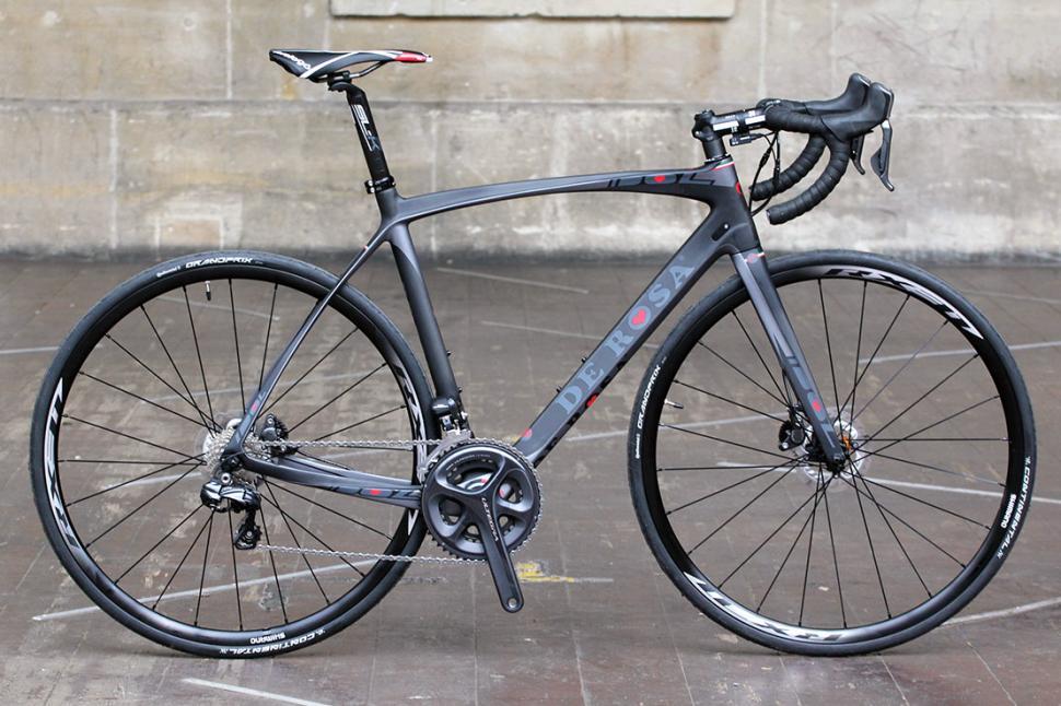 a5f286a9c1e Review: De Rosa Idol Disc road bike | road.cc