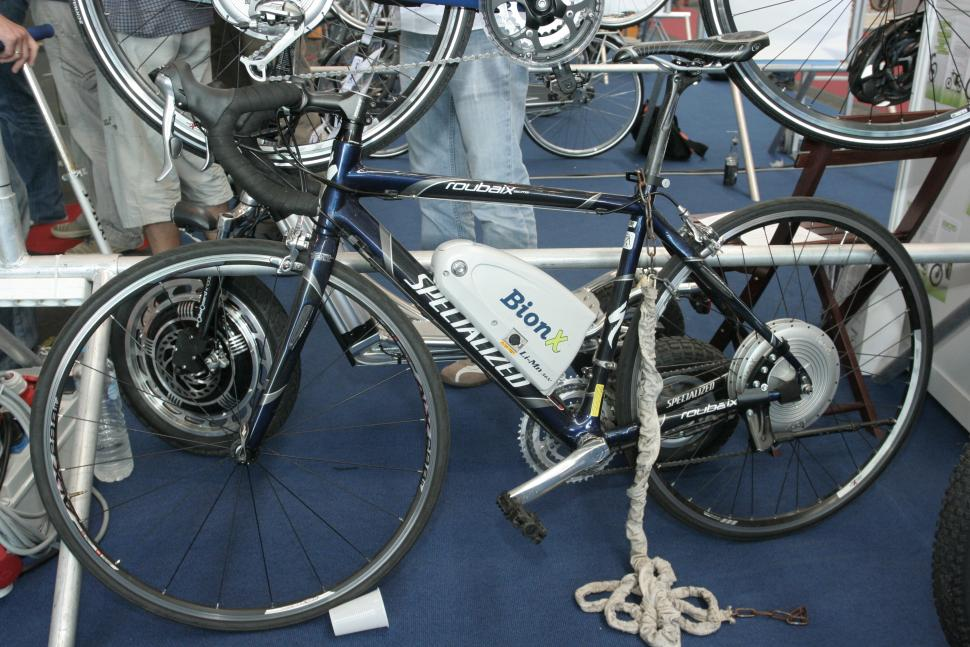 Bionx system on specialized Roubaix