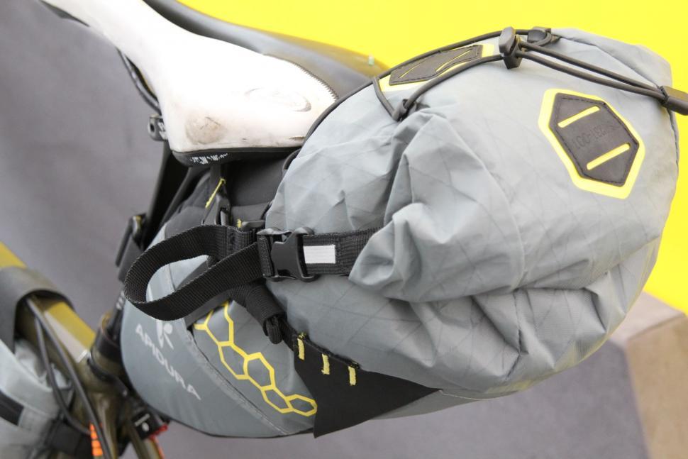 Juliana Buhring Transcontinental bike - seat pack