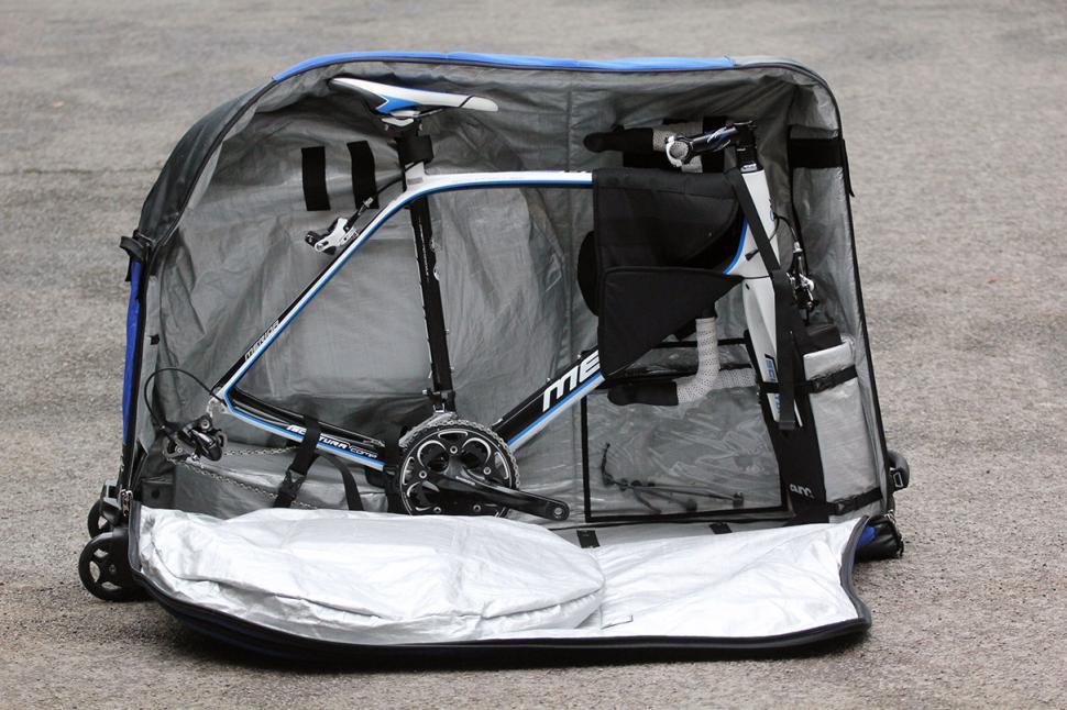 Evoc Are Specialists In The Field Of Bicycle Transport And Voc 280l Bike Travel Bag Is A Case Point With Many Great Features Only Gained Through