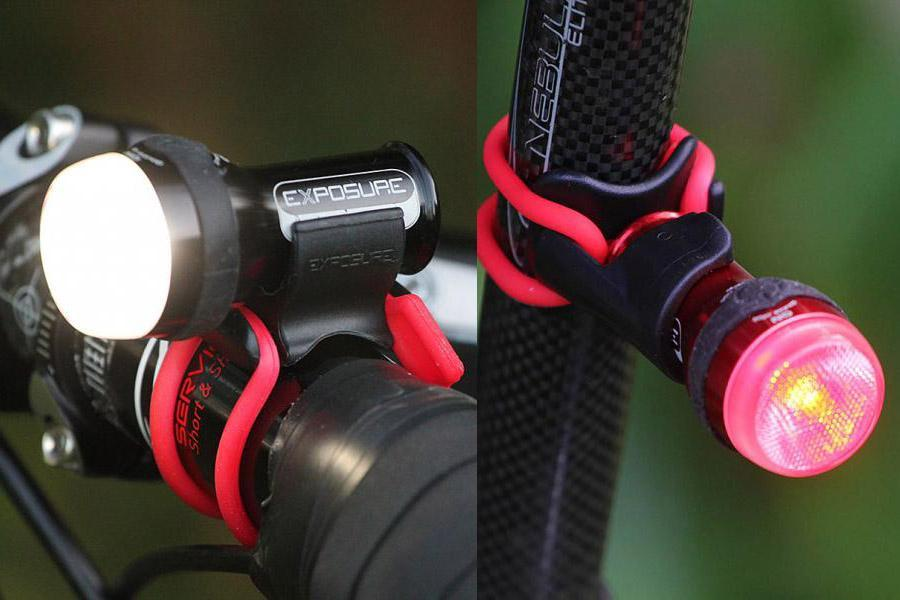 & Review: Exposure Lights Trace TraceR front and rear light set | road.cc