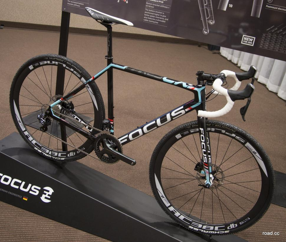 Focus launch new lighter Mares CX cycle-cross bike with disc
