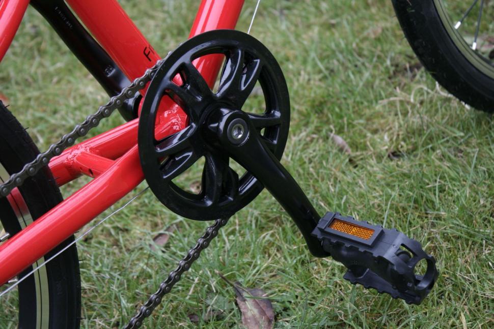 Bicycle Crank 127mm Crankset 36T Chainring For Folding Bike BMX Children Bike