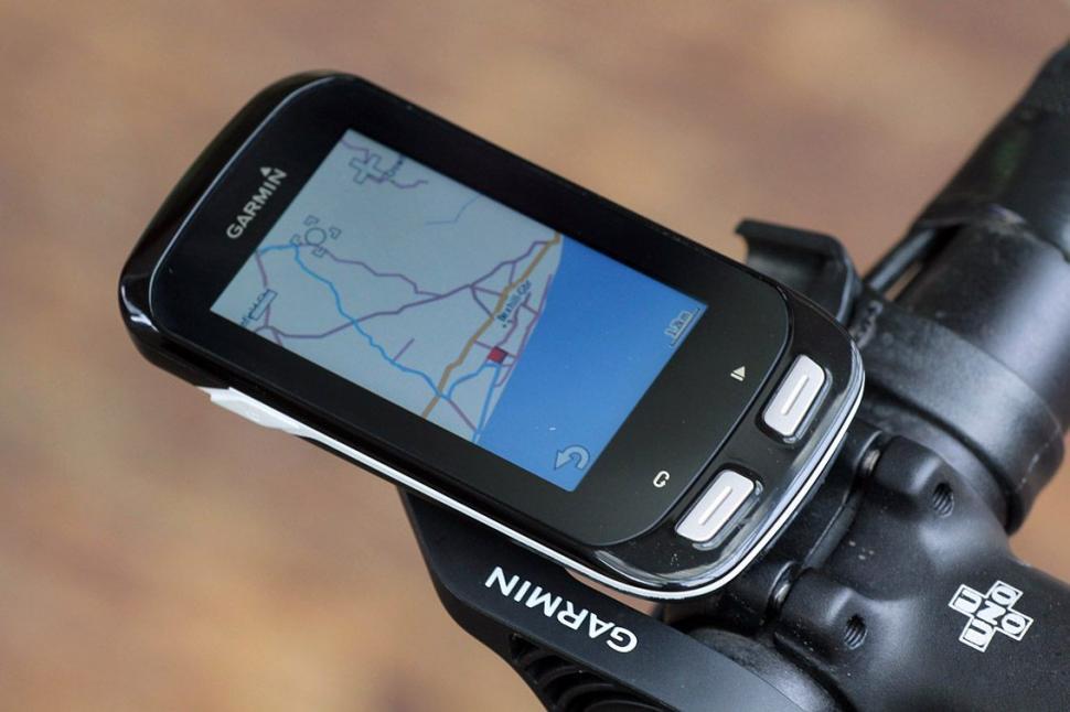 Garmin Edge 1000 - map