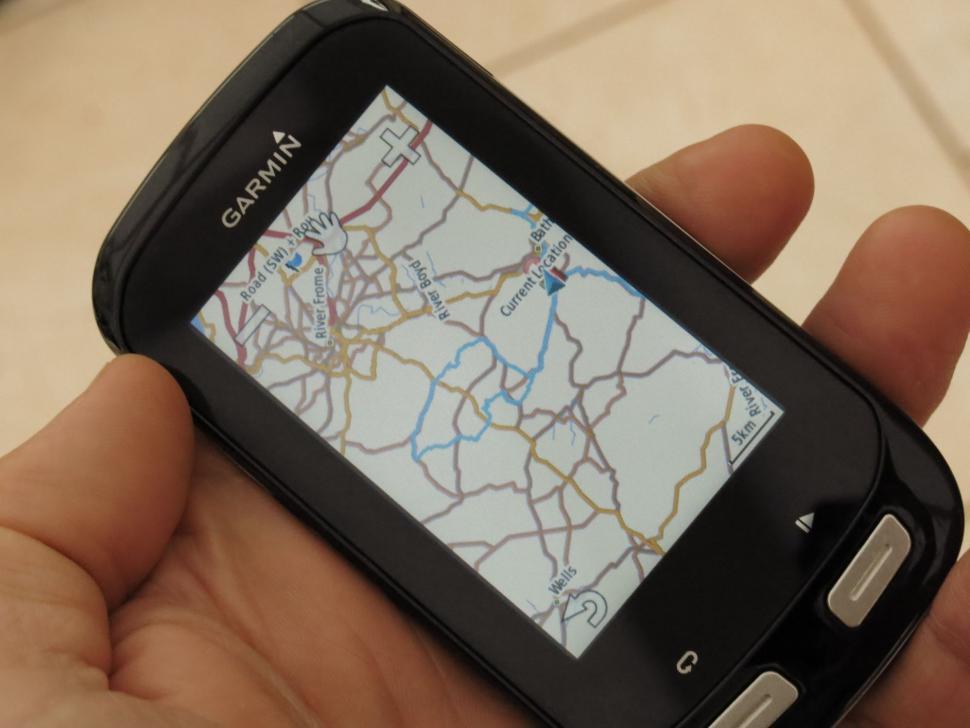 Garmin Edge 1000 - ride map