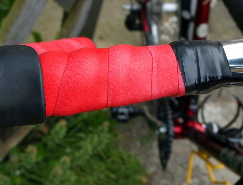 2 Bar tall 2x Cycling Road Bike Sports Bicycle Cork Handlebar Rubber Tape Wrap