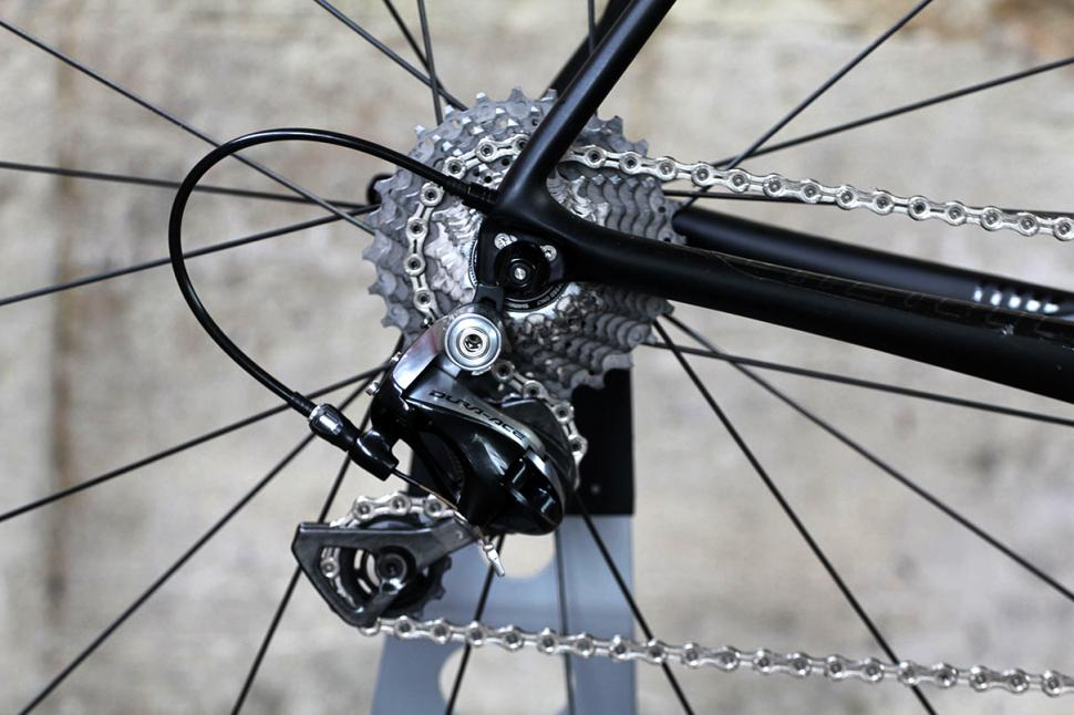 Giant TCR Advanced - rear mech