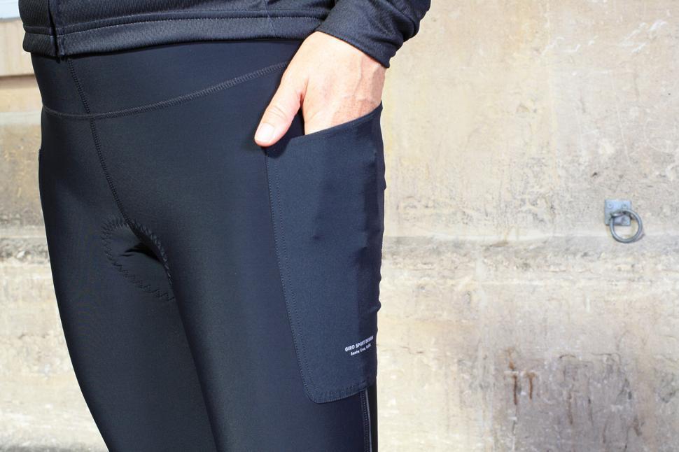 XS GIRO NEW ROAD Women/'s Thermal 3//4 Legging