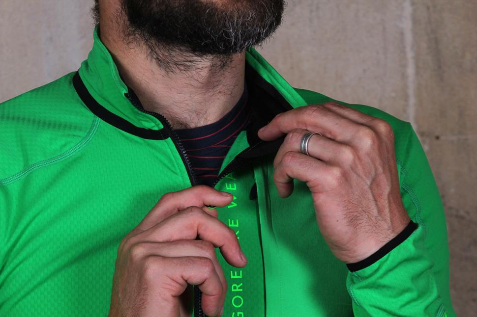 Gore Power Trail thermo jersey Zip