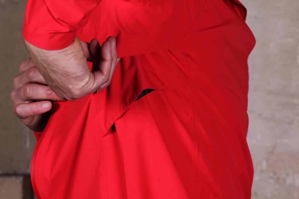 HOY Vulpine Men's Portixol Waterproof Jacket Vent