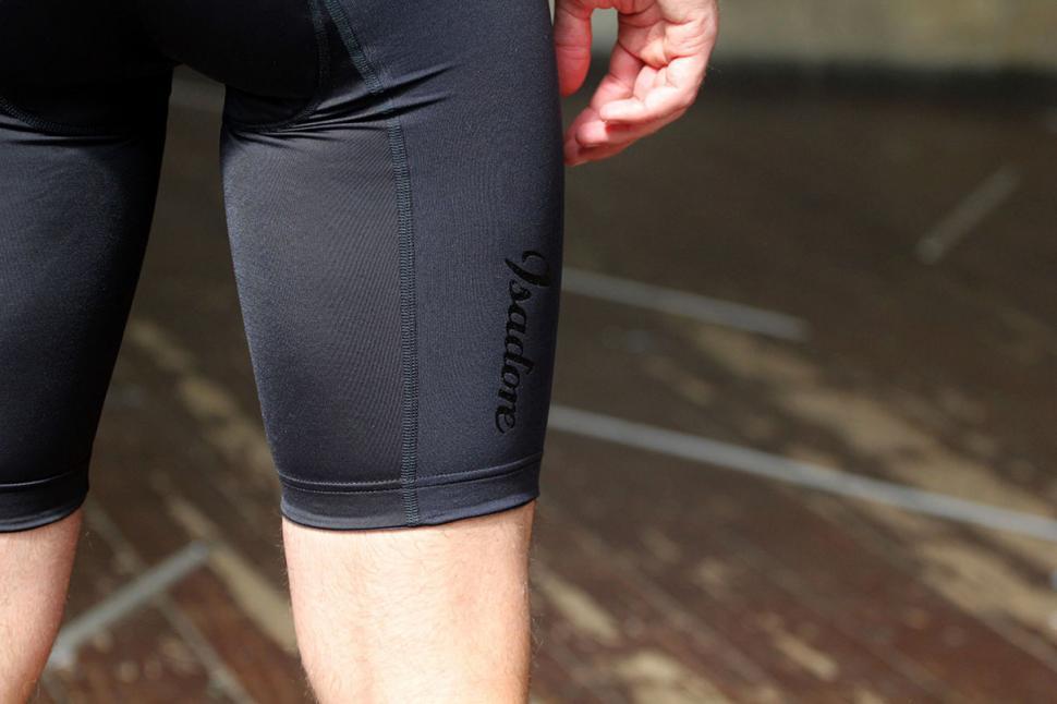 Isadore Bib Shorts - logo