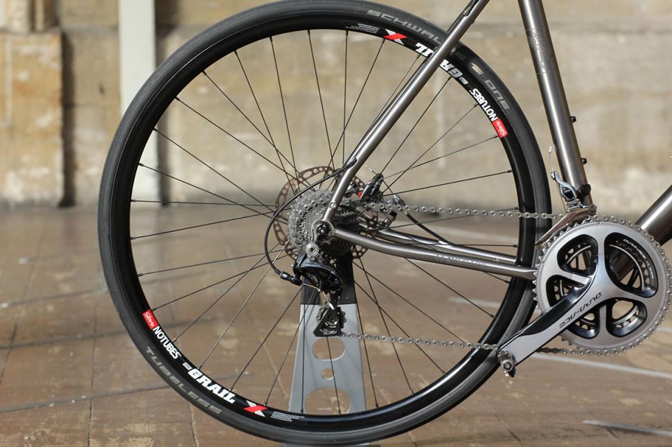 Just in: J Laverack J ACK titanium disc brake road bike