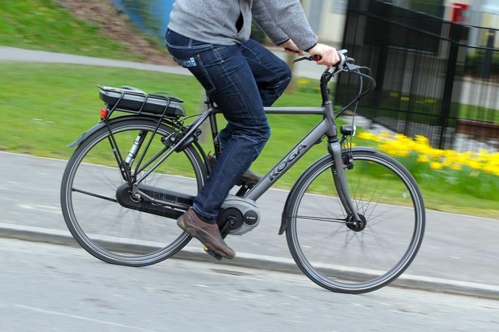 Koga E-Nova RT Electric Bike - riding 2