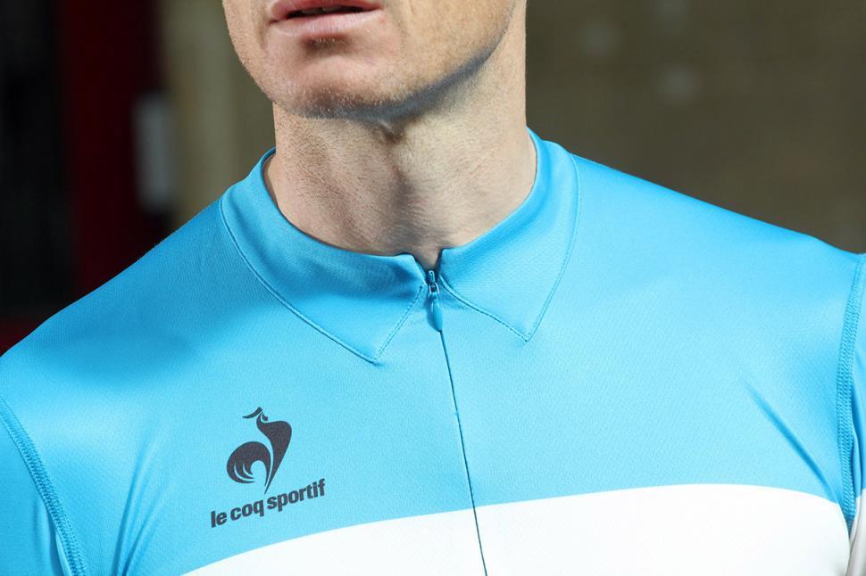 d378c71c9 1   5. Le Coq Sportif Performance Arac Jersey. The Le Coq Sportif  Performance Arac jersey is a lightweight option for ...