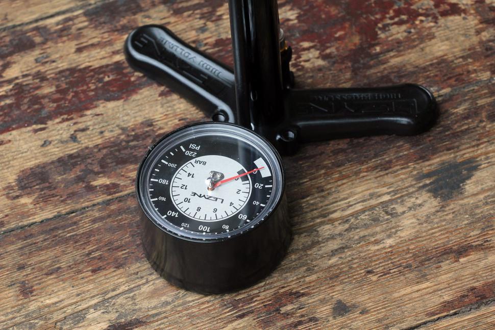Lezyne Alloy Floor Drive - gauge