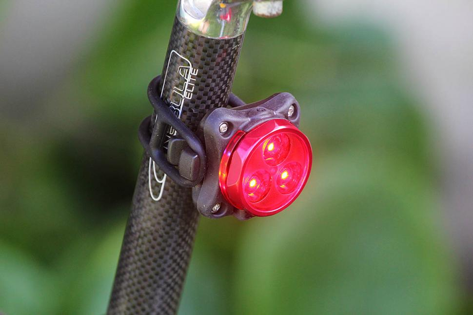 LEZYNE ZECTO DRIVE RED BICYCLE TAILLIGHT