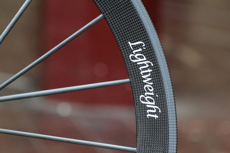 Lightweight Meilenstein wheelset Detail
