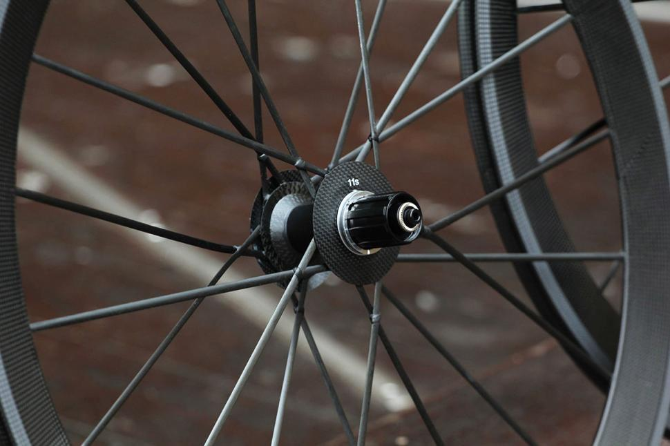 Lightweight Meilenstein wheelset Rear Hub