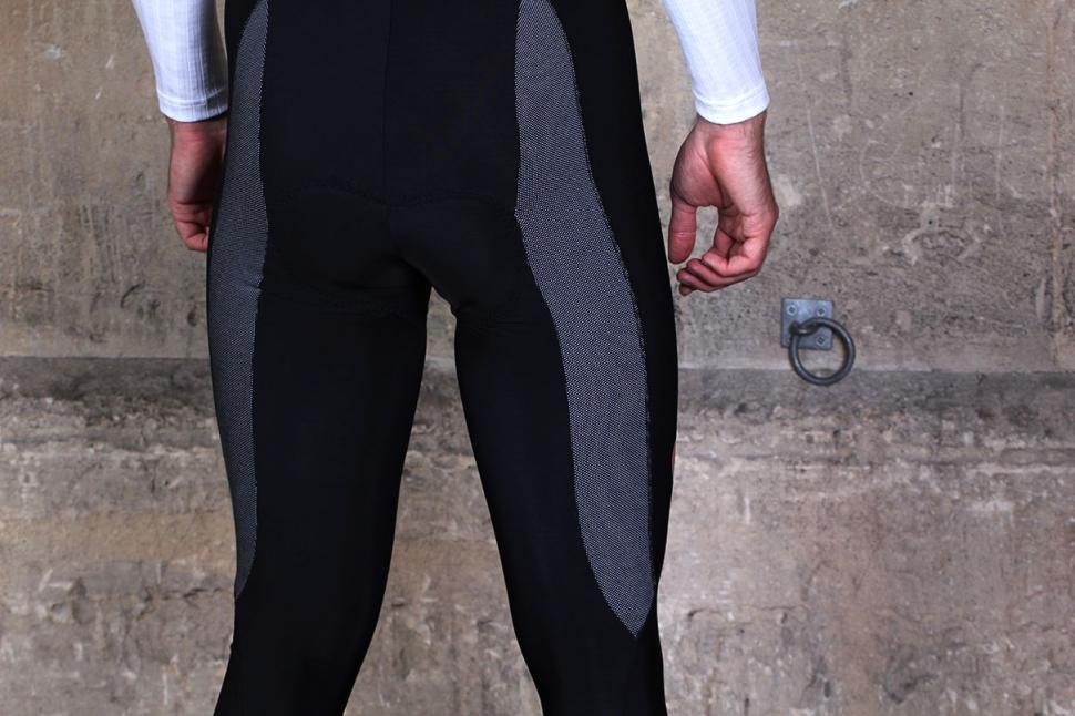 Lusso Nitelife Thermal Bib Tights - rear reflective