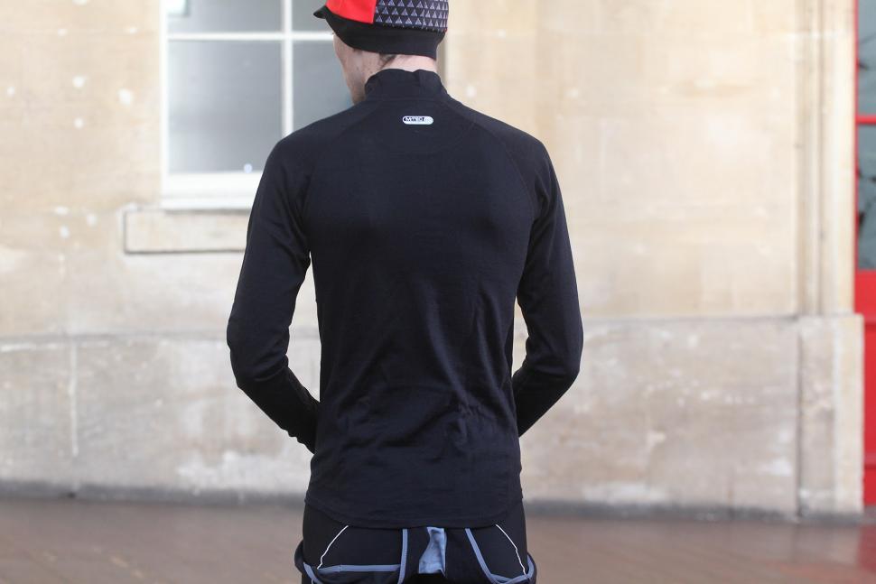 Madison Isoler Merino Mens Long Sleeve Baselayer Black
