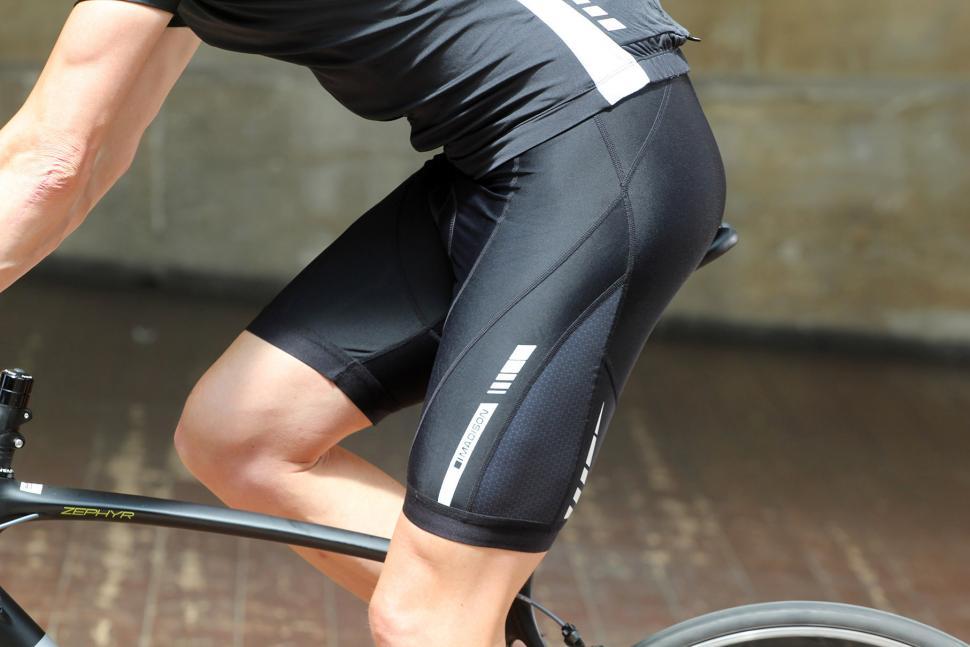 Madison Road Race Optimus Mens Cycling Bib Shorts Black