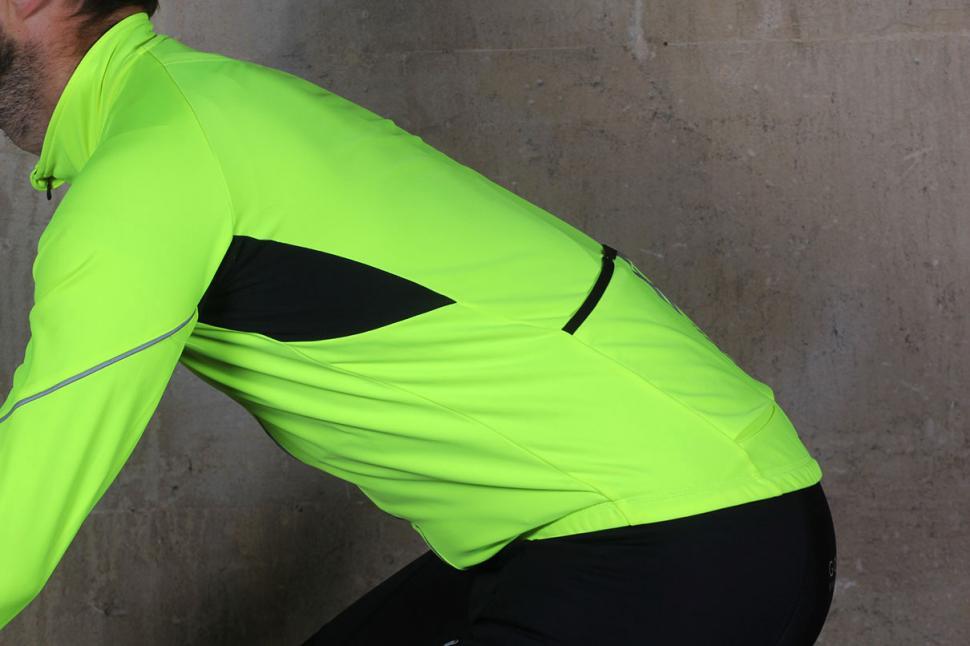 Madison Sportive men's long sleeve thermal roubaix jersey - on bike