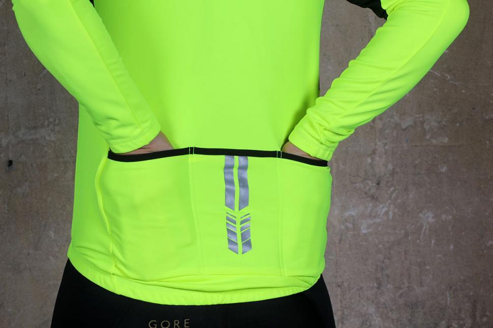 Madison Sportive men's long sleeve thermal roubaix jersey - pockets