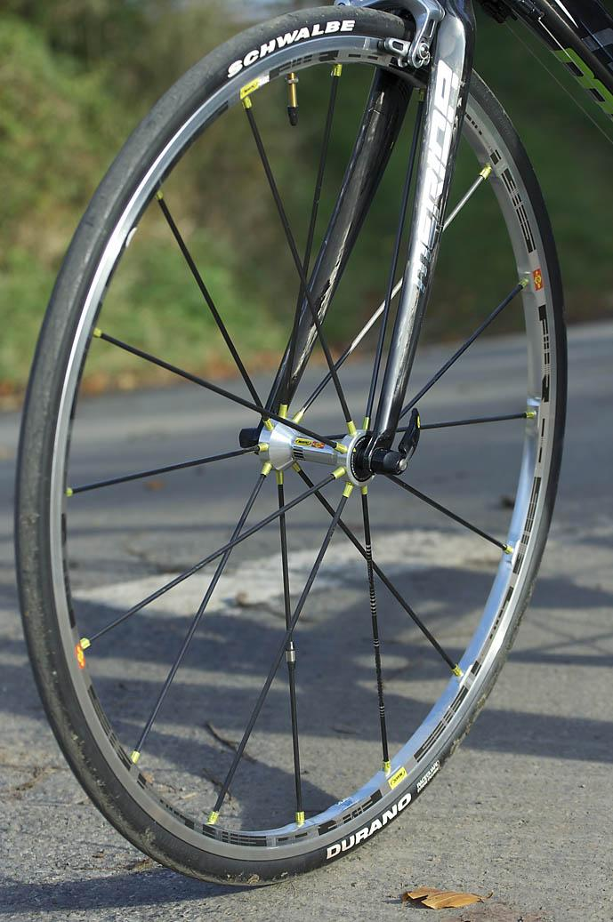 Merida Scultura Evo 2009 Mavic SSC Wheel