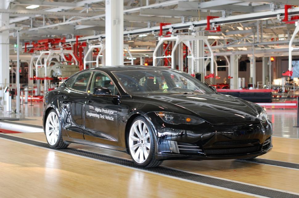 A Tesla car (file picture - CC licensed image by pestoverde:Flickr)