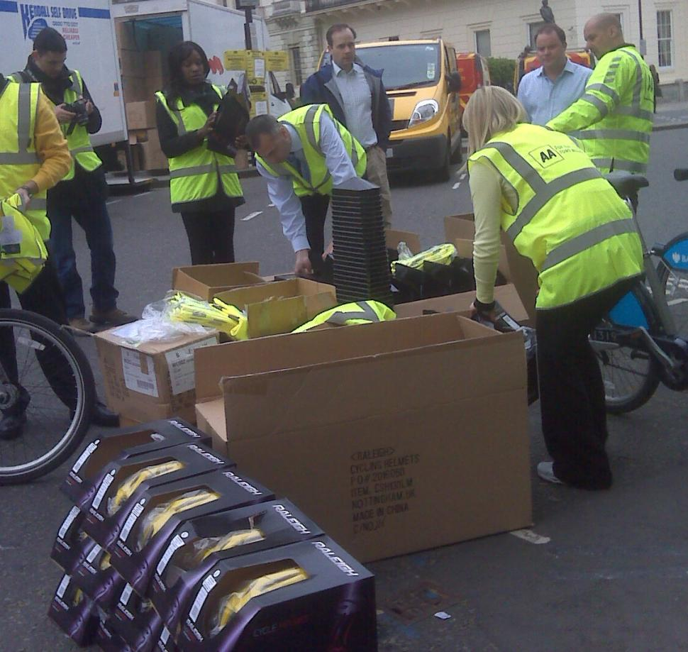 AA helmets handout London.jpg