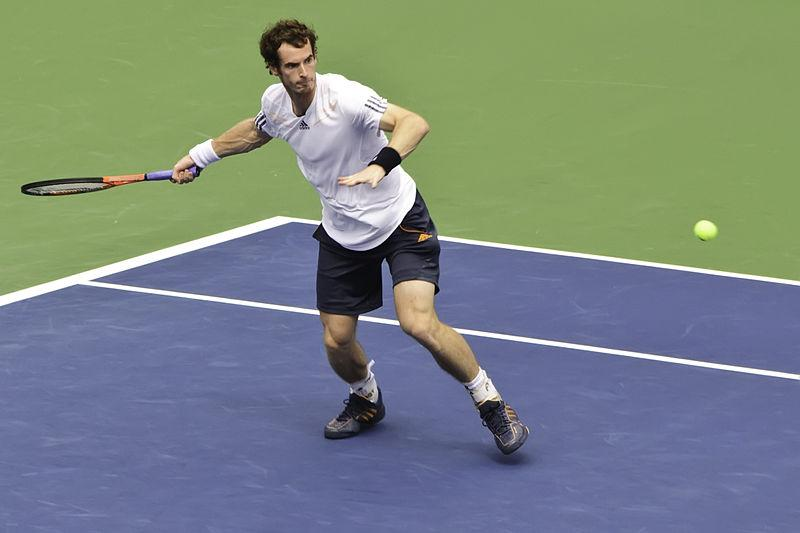 Andy Murray, US Open 2012, Francisco Diez, Wikimedia Commons