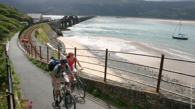 Barmouth Bridge cycle walking path