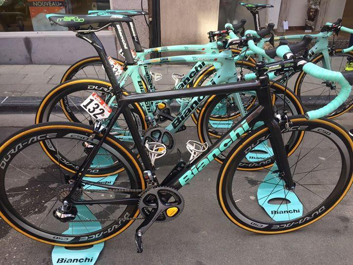 Bianchi Specialissima spotted at Fleche Wallone (Team Lotto NL-Jumbo facebook)