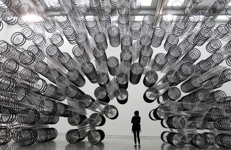 Bicycles Forever by Ai Weiwei