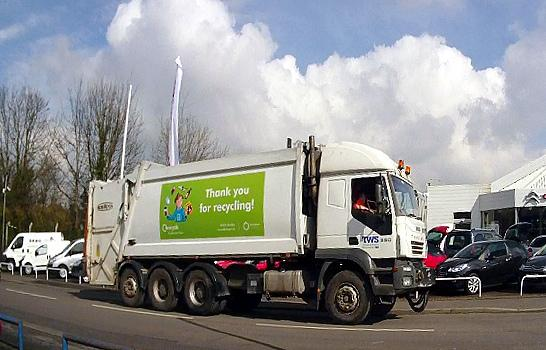 Image result for bin lorry