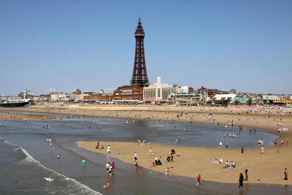Blackpool Tower (CC-BY-SA 2.0 licensed by ingythewingy via Flickr)