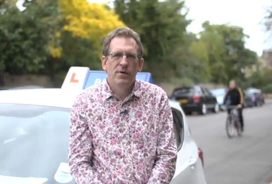 Blaine Walsh of driving-instructor.tv YouTube still