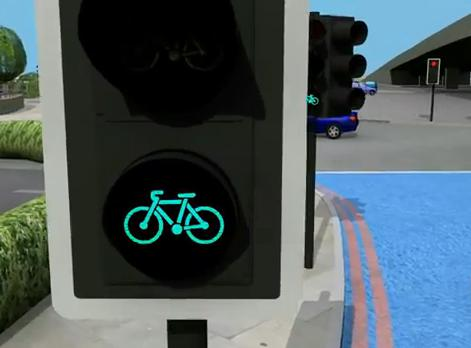Bow cyclists only lights